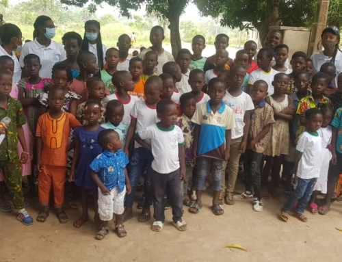 Easter action 2021 in Duokro/Yamoussoukro/CIV