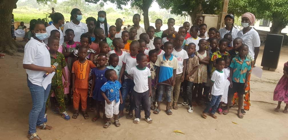 Action de Pâques 2021 à Duokro/Yamoussoukro/CIV